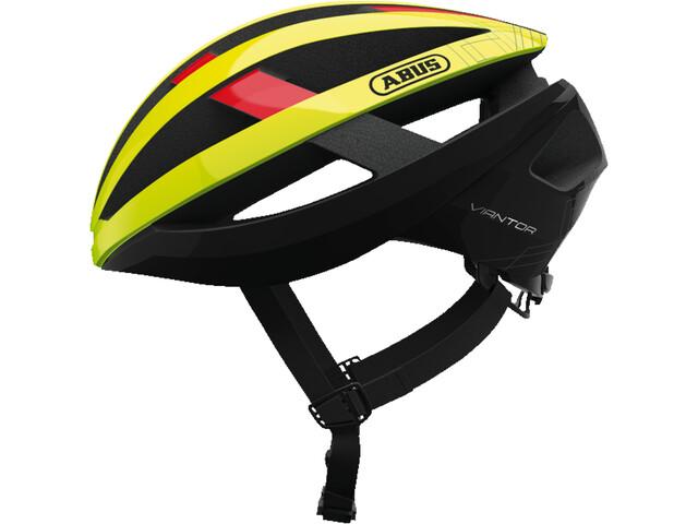 ABUS Viantor - Casco de bicicleta - amarillo